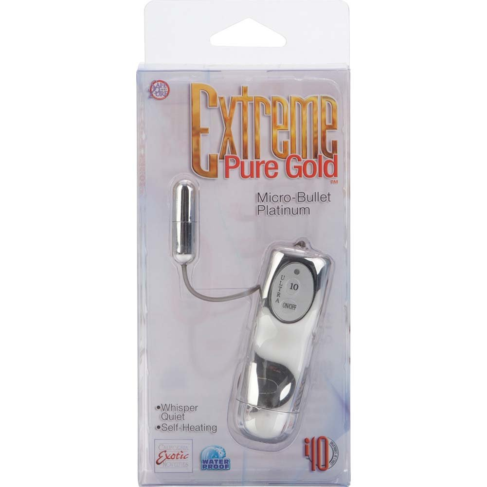 Extreme Pure Gold Micro-Bullet Platinum - View #3