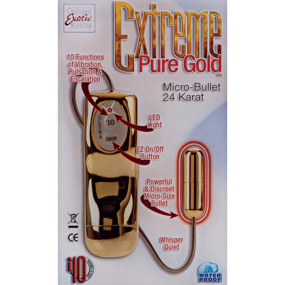 Extreme Pure Gold Micro-Bullet Gold - View #1