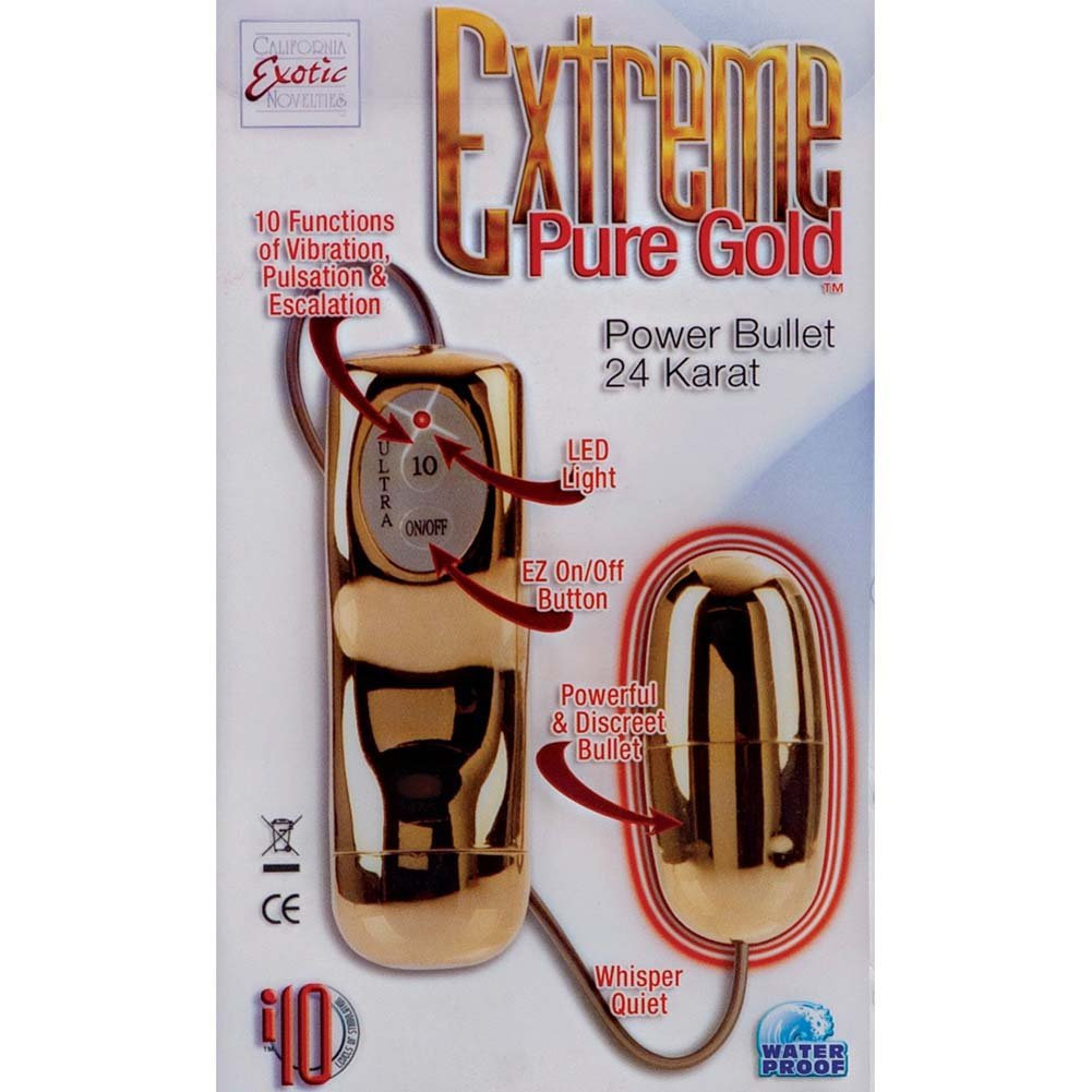 Extreme Pure Gold Power Bullet Gold - View #1