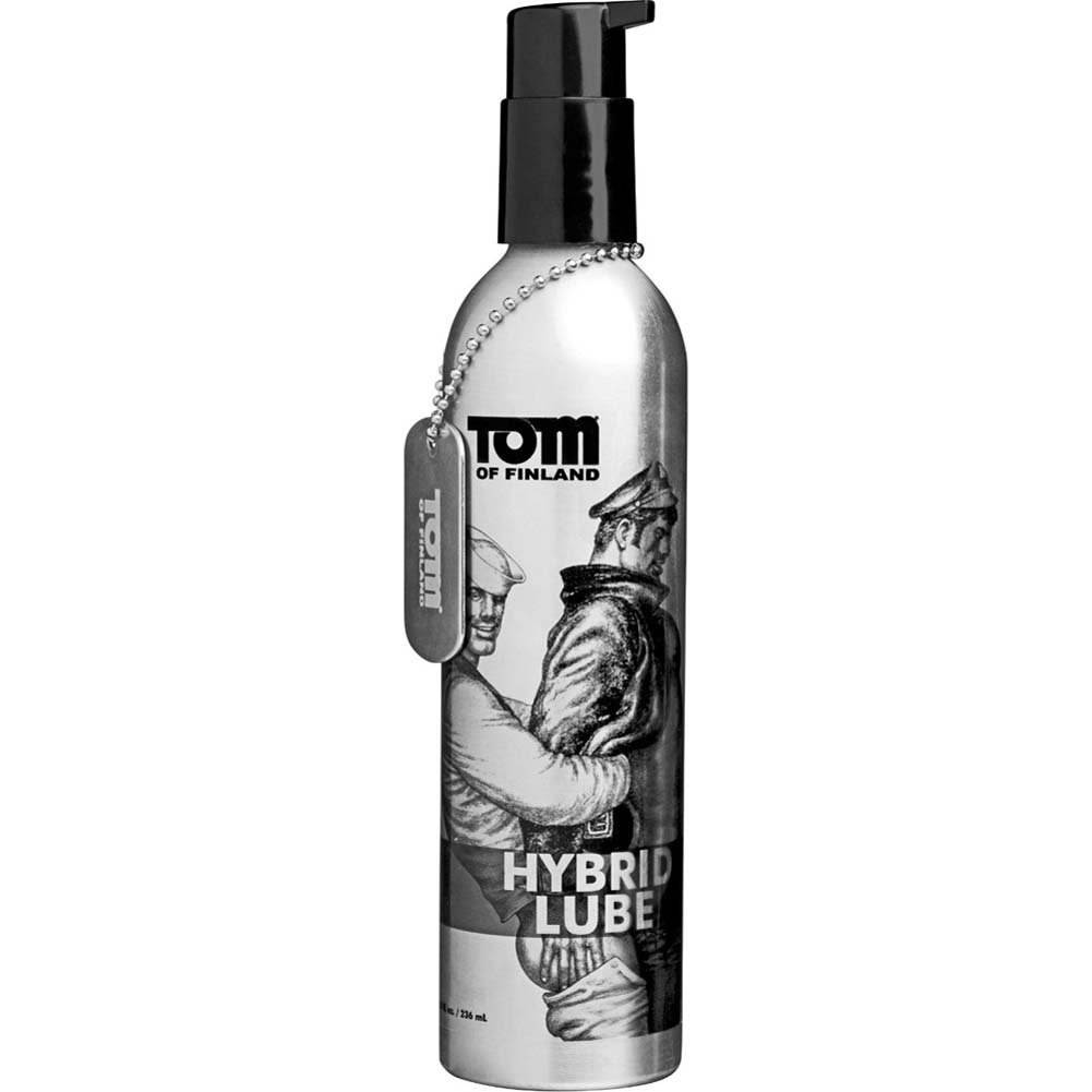 Tom of Finland Toms Spit Hybrid Lubricant 8 Fl.Oz. - View #2