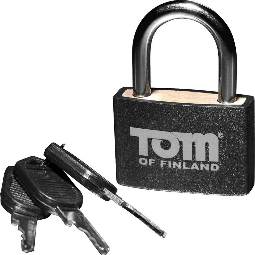 Tom of Finland Metal Lock Black - View #3