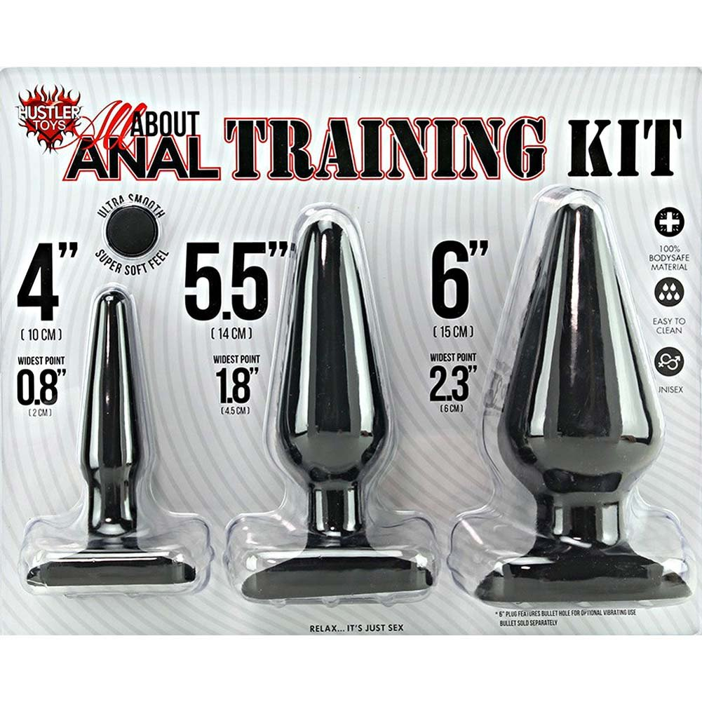 Hustler All About Anal Training Kit Black - View #1