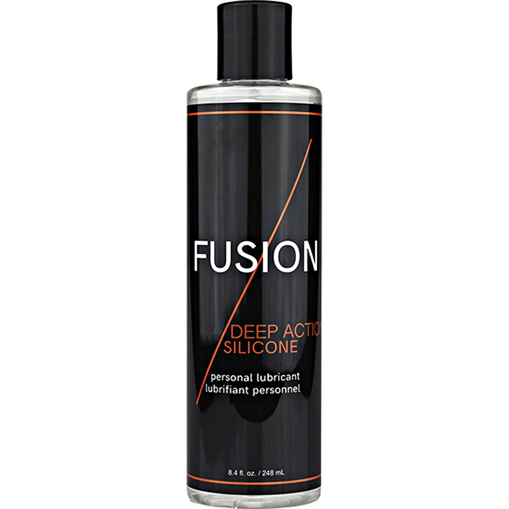 Fusion Deep Action Silicone Lubricant 8 Fl.Oz 240 mL - View #1