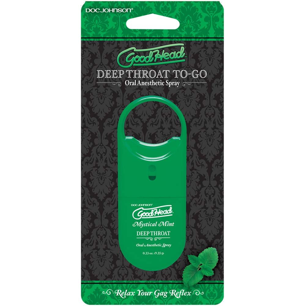 GoodHead To-Go Deep Throat Spray 0.33 Oz Mystical Mint - View #1