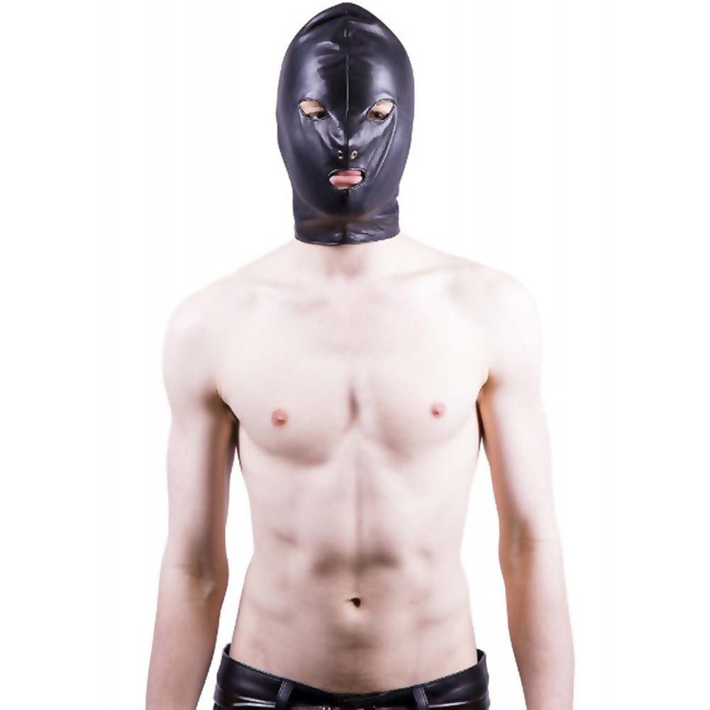 Rouge Leather Mask Black - View #1