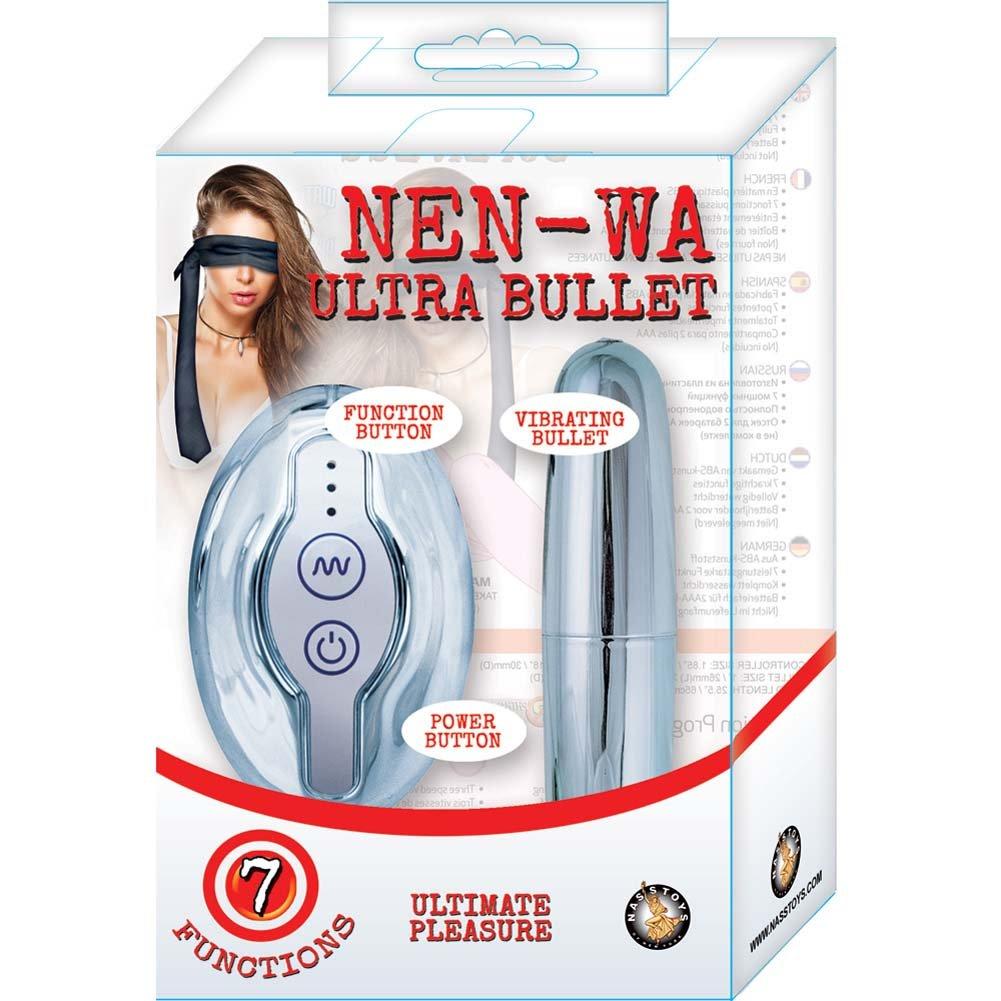 "Nen-Wa Ultra Vibrating Bullet 4.25"" Silver - View #1"