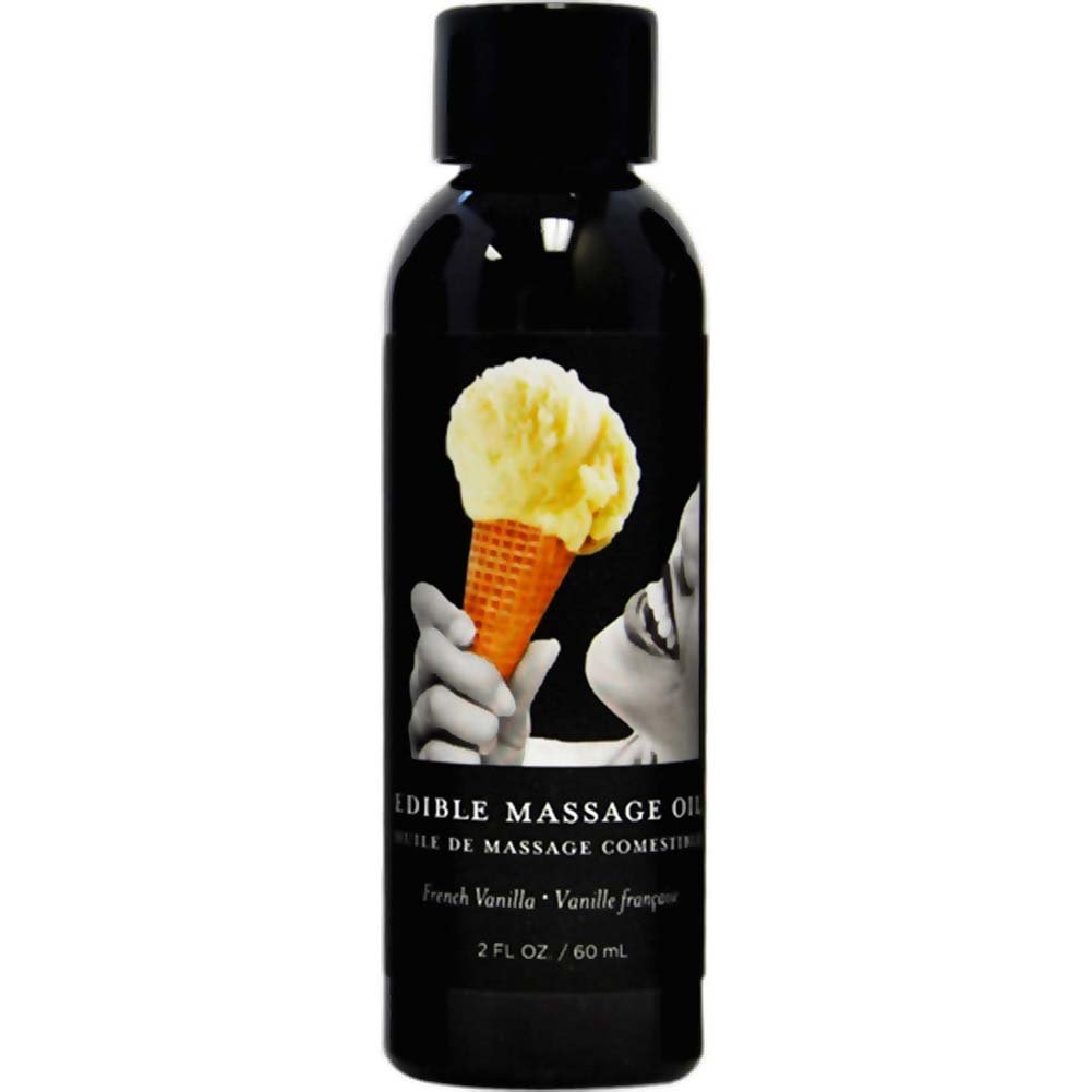 Earthly Body Edible Massage Oil 2 Fl.Oz 60 mL French Vanilla - View #1