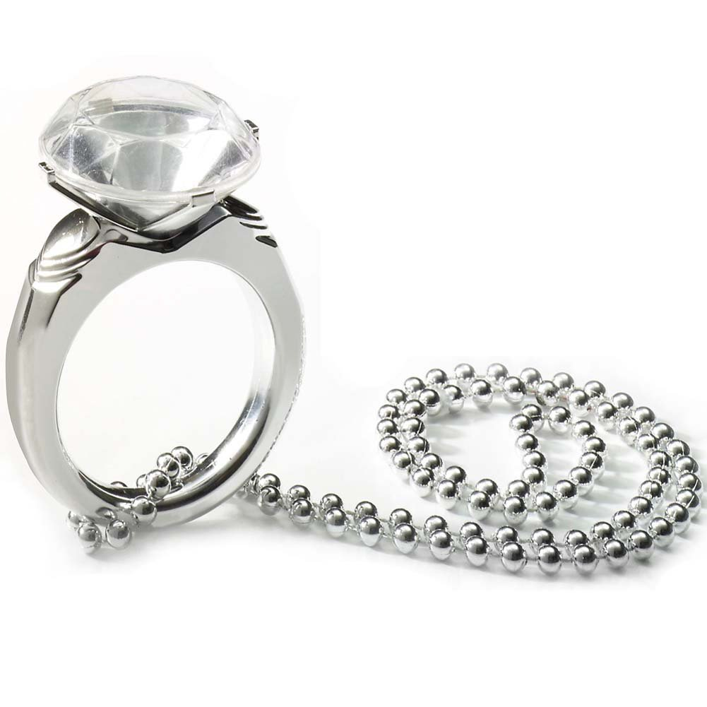 Bachelorette Jumbo Diamond Ring On Bead - View #1