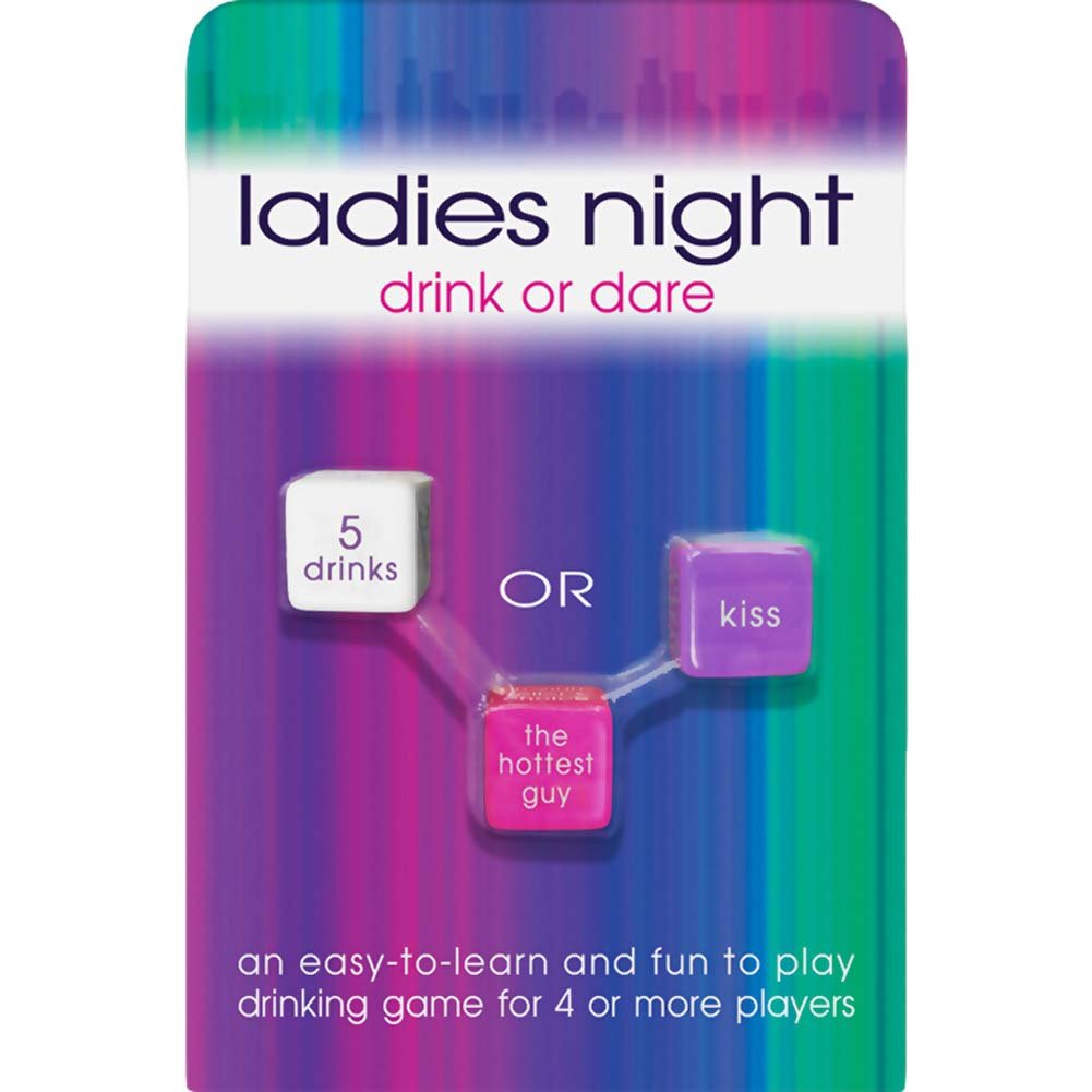 Ladies Night Drink or Dare Dice Game - View #1