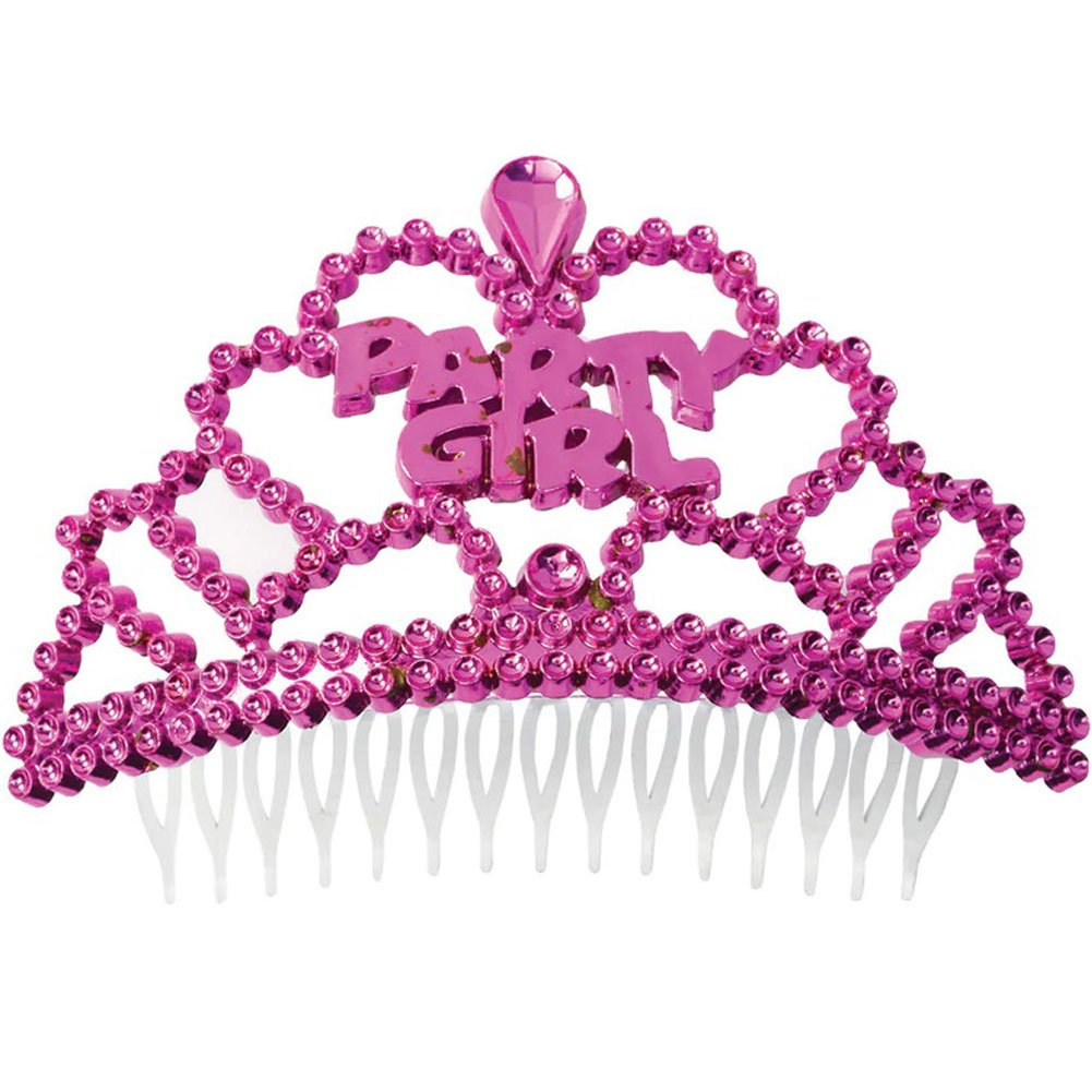 Bachelorette Party Mini Party Girl Tiara 6 Pack - View #1