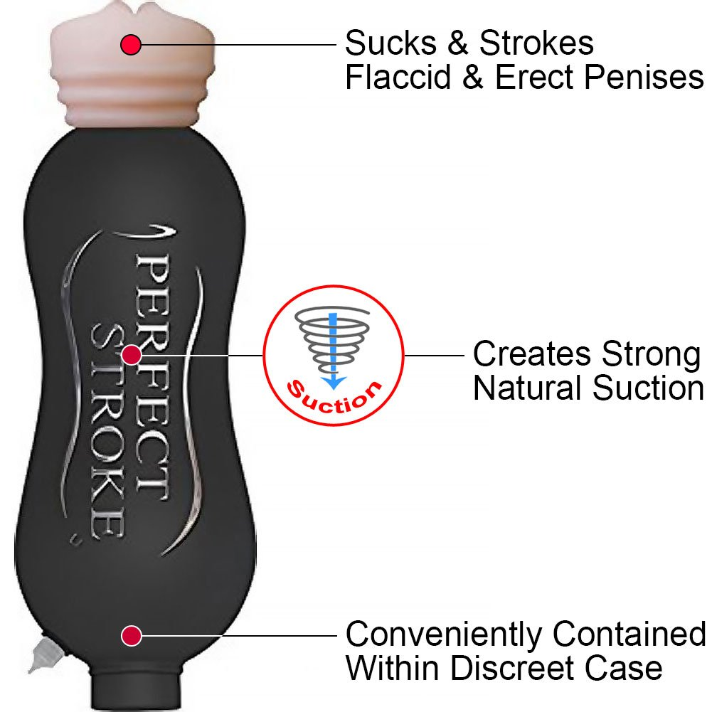 Zero Tolerance Perfect Stroke Mouth Stroker with Bottle - View #1
