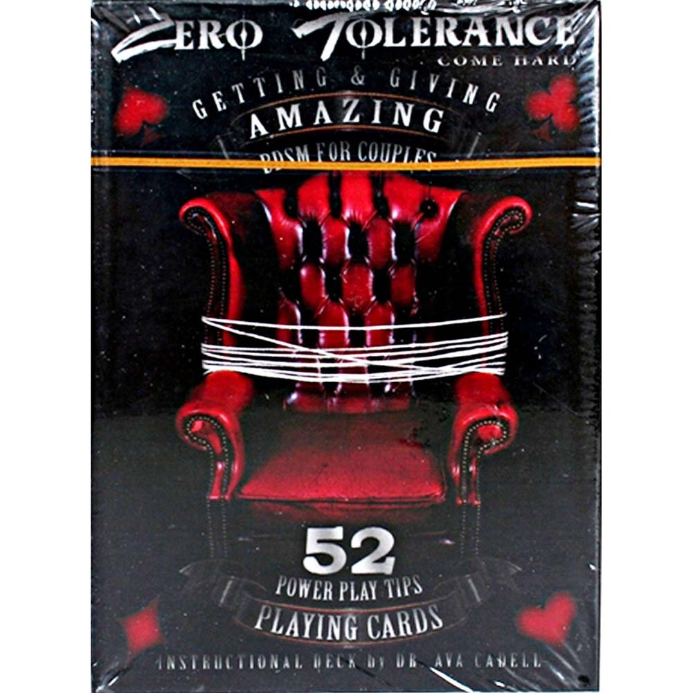 Zero Tolerance Getting and Giving Amazing BDSM for Couples Playing Cards - View #1
