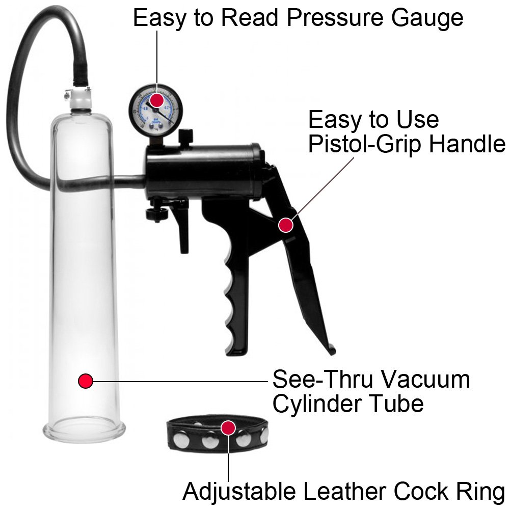 Size Matters Premium Penis Pumping Kit with Adjustable Penis Ring Beginner - View #1