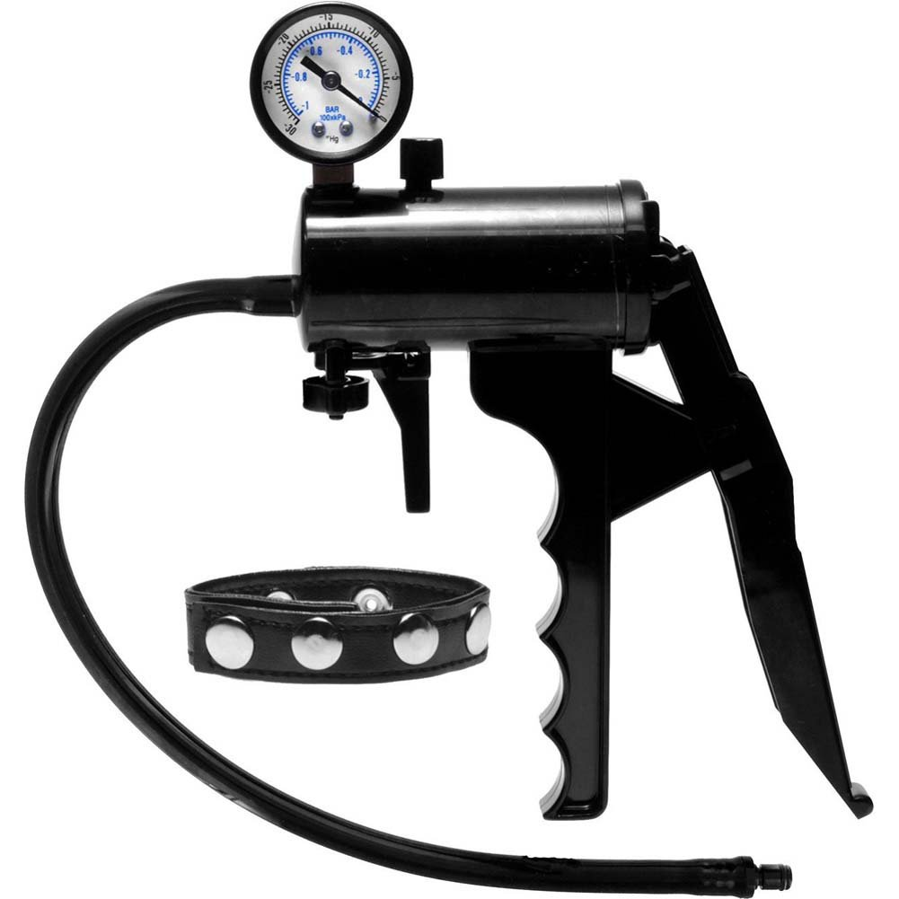 Size Matters Premium Gauge Pump Black - View #2