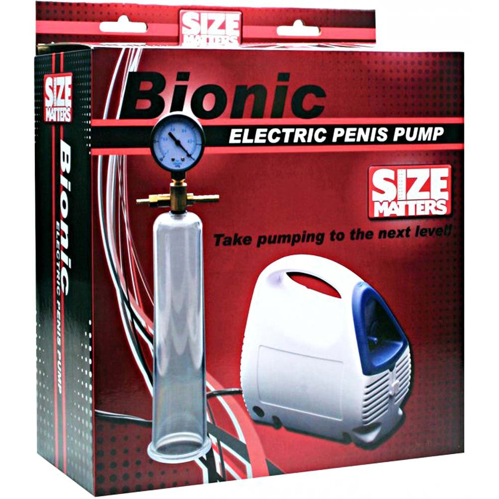 Size Matters Bionic Electric Pump Kit with Penis Cylinder - View #4