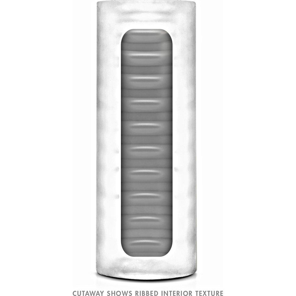 "Blush X5 Men Fifi Bag Masturbator 5.25"" Clear - View #4"