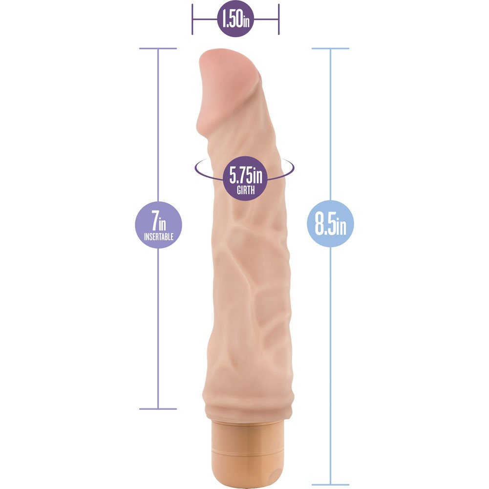 "Blush B Yours No. 6 Vibrator 9"" Natural - View #1"