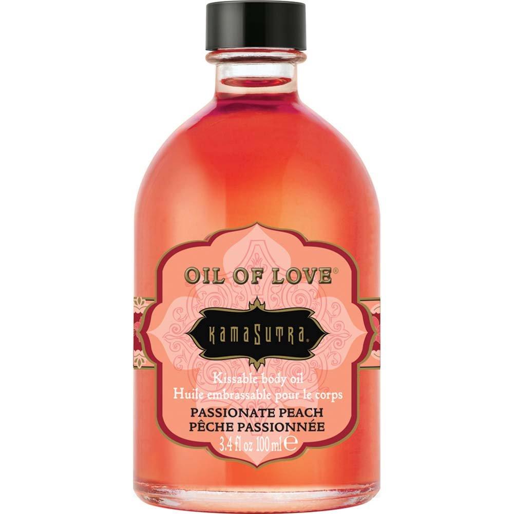 Kama Sutra Oil of Love 3.4 Fl.Oz 100 mL Passionate Peach - View #1