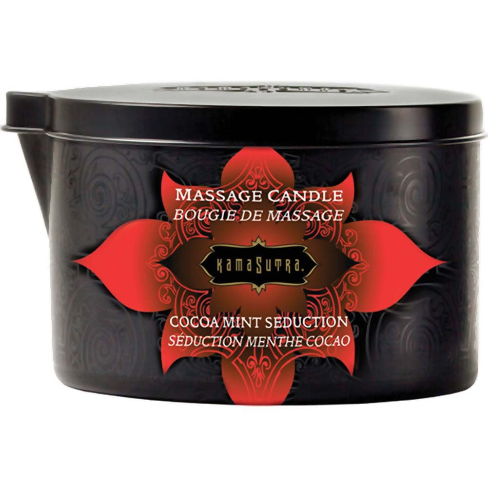 Kama Sutra Massage Candle Cocoa Mint Seduction 6 Oz. - View #1