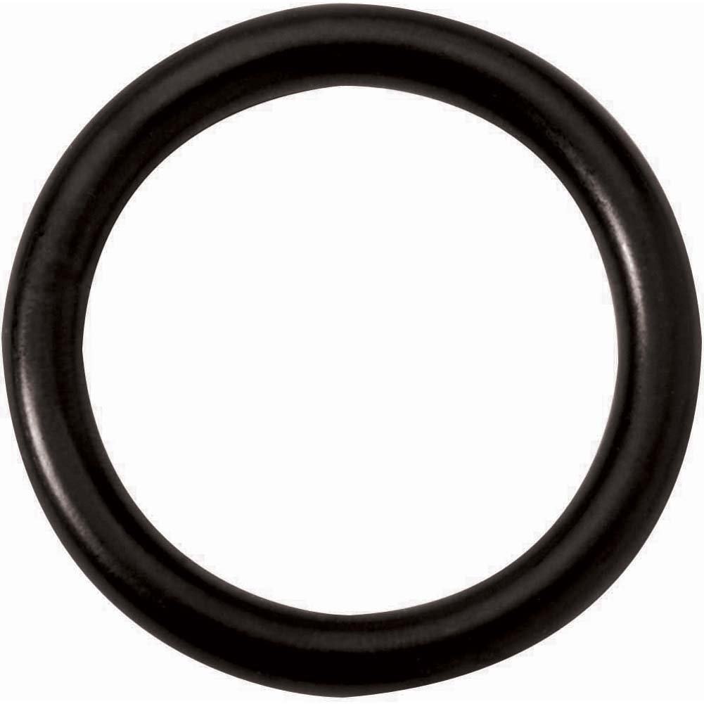 "Spartacus Steel Cock Ring 1.5"" Black - View #2"