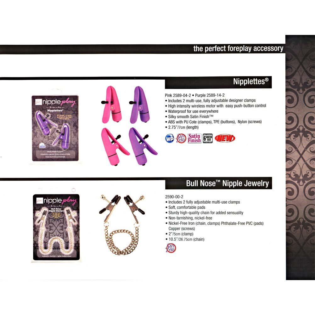 California Exotic Novelties Nipple Play Complete Line Catalog - View #2