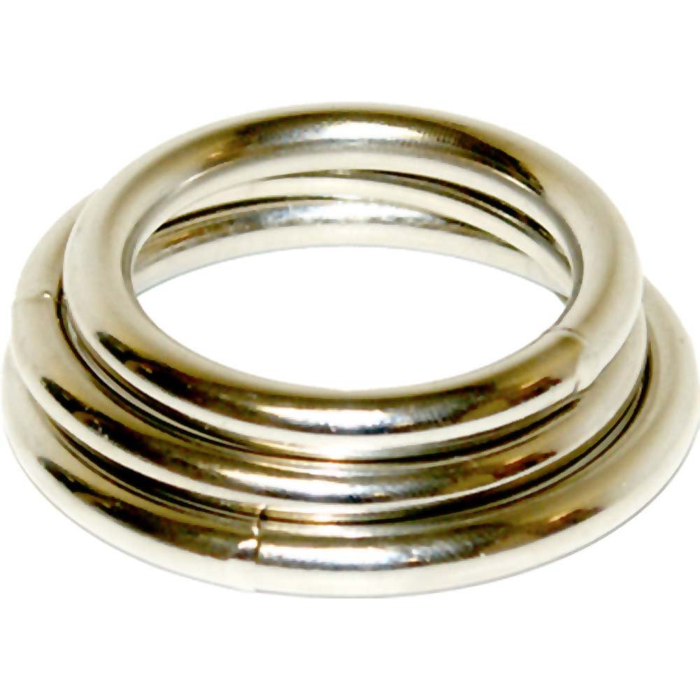 Manbound Metal Cock Rings 3 Pack - View #2