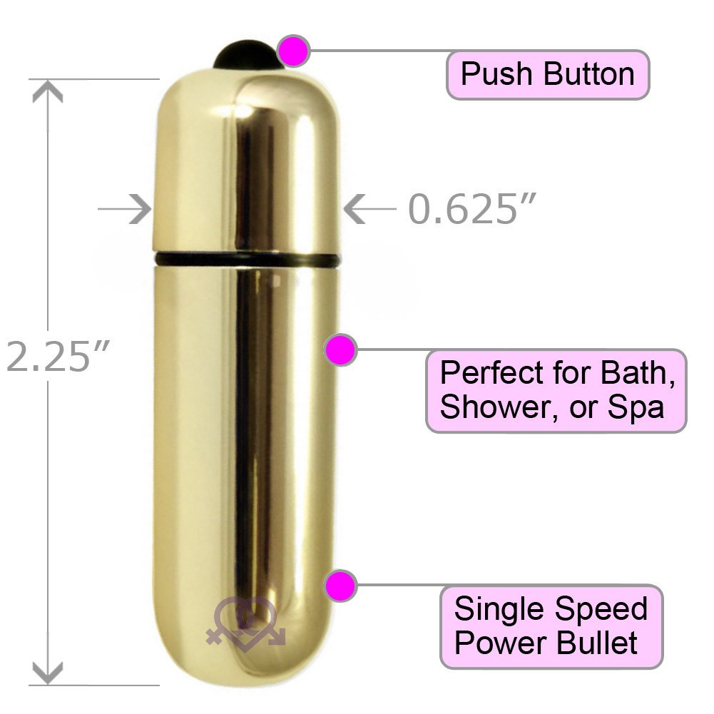 "Ultra Powerful Waterproof Love Bullet Vibrator Sex Toy 2.25"" Assorted Colors Pack of 3 - View #1"