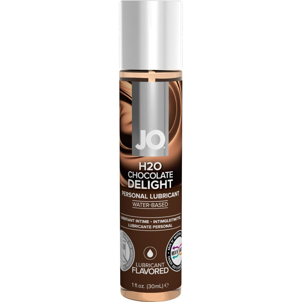 JO H2O Flavored Intimate Lubricant 1 Fl.Oz 30 mL Chocolate Delight - View #1