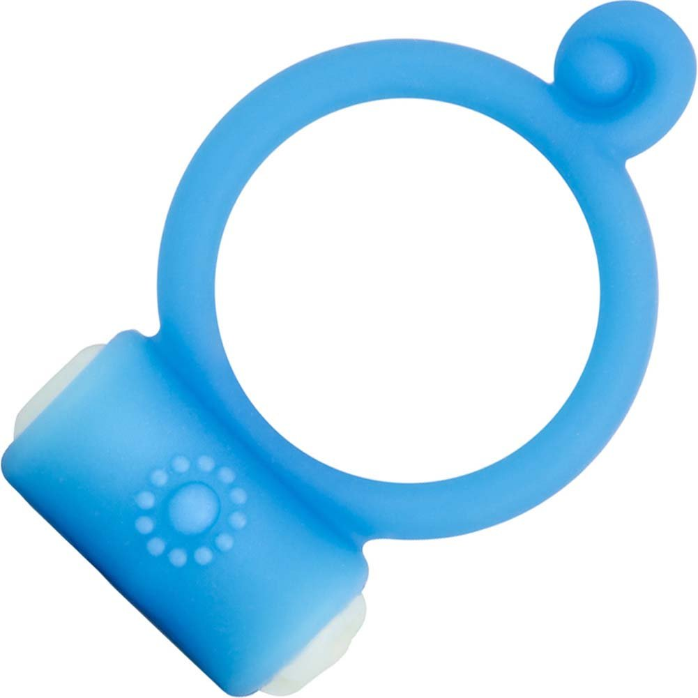 Blush GoGo Play Vibrating Ring Blue - View #2