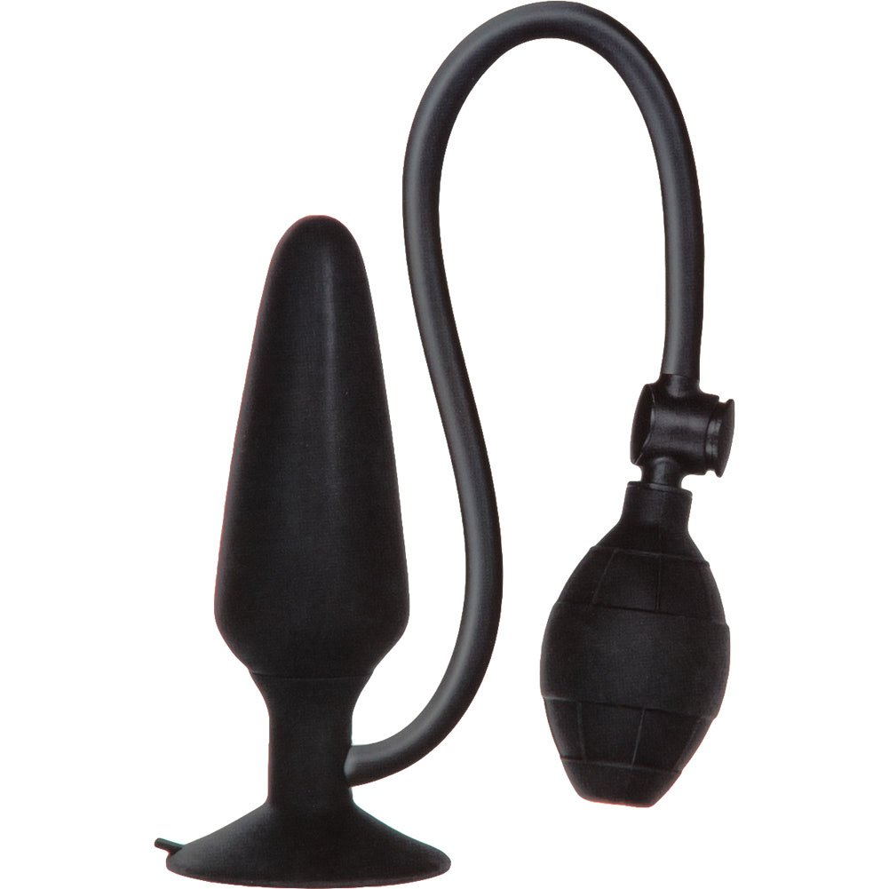 "California Exotics COLT XXL Pumper Plug 6"" Black - View #4"