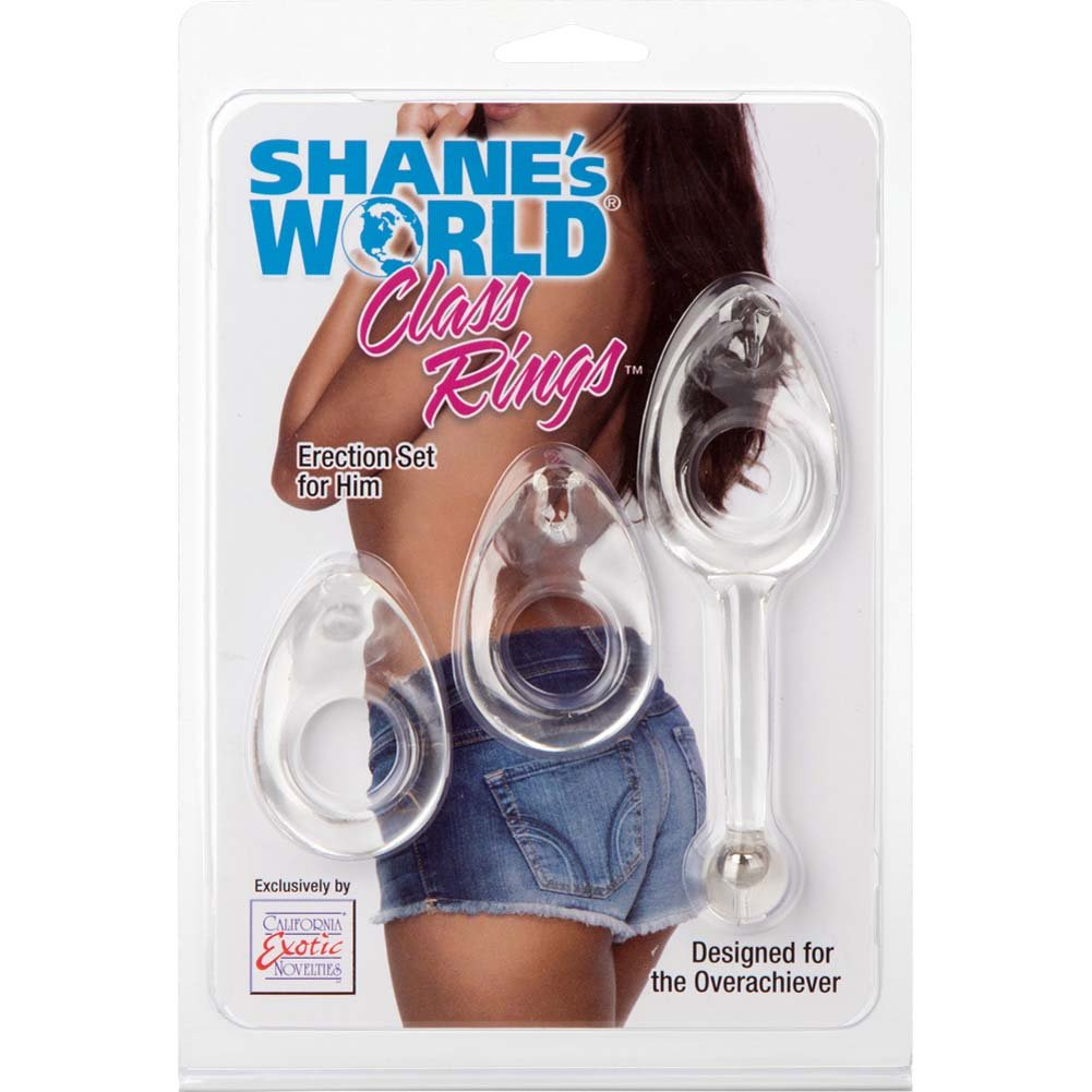 ShaneS World Class Rings Erection Set Clear - View #1