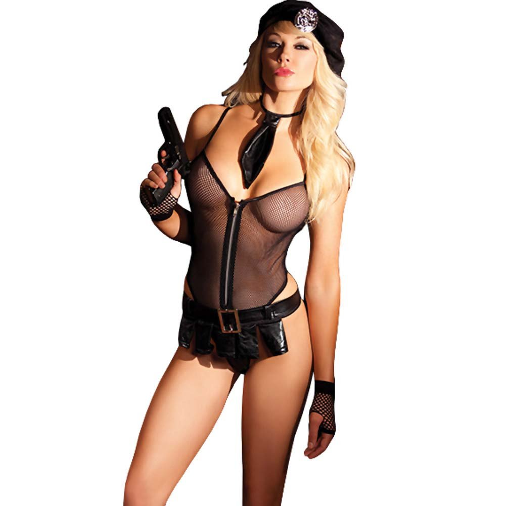 Be Wicked Bedroom Cop Costume 5 Pieces Set Medium/Large - View #1