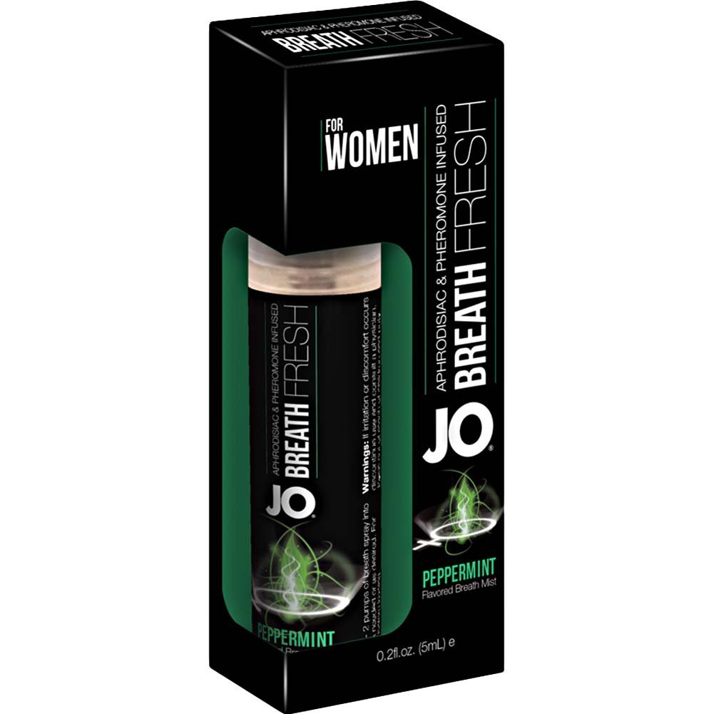 JO for Women Breath Fresh Mist with Pheromone 0.2 Fl.Oz 5 mL Peppermint - View #1