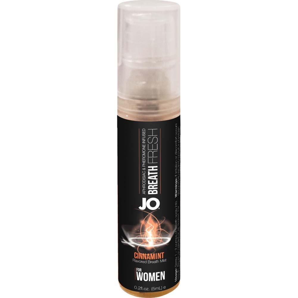 JO for Women Breath Fresh Mist with Pheromone 0.2 Fl.Oz 5 mL Cinnamint - View #2