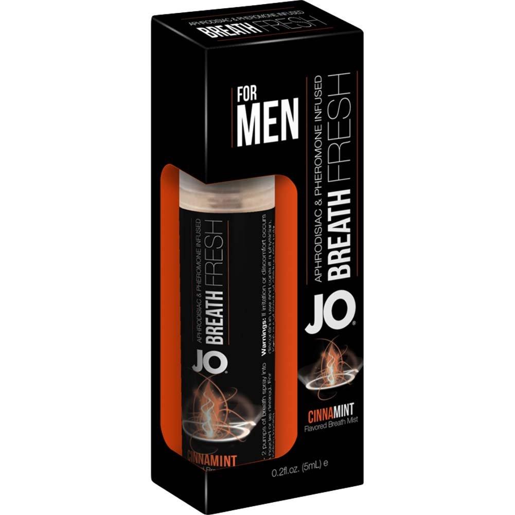 JO for MEN Breath Fresh Mist with Pheromone 0.2 Fl.Oz 5 mL Cinnamint - View #1