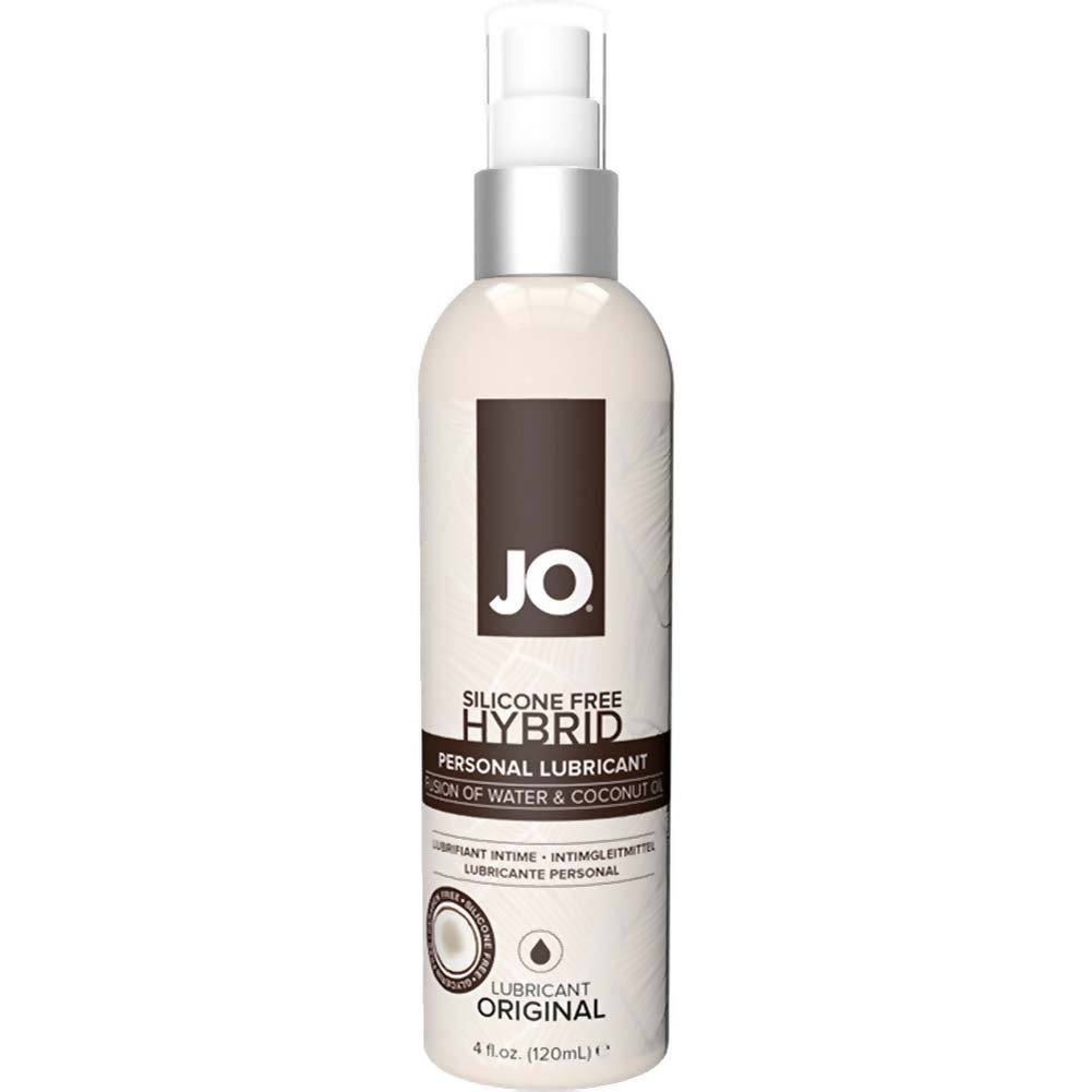 JO Silicone Free Hybrid Personal Lubricant with Coconut 4 Fl.Oz 120 mL Original - View #1