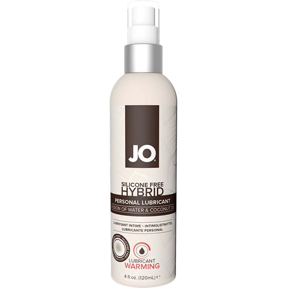 JO Silicone Free Hybrid Personal Lubricant with Coconut 4 Fl.Oz 120 mL Warming - View #1