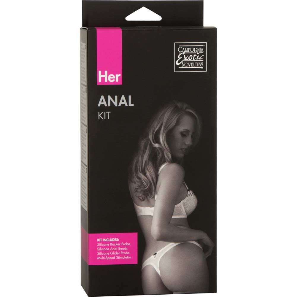 California Exotics Her Anal Kit Sensual Kit for Women and Couples Purple - View #1