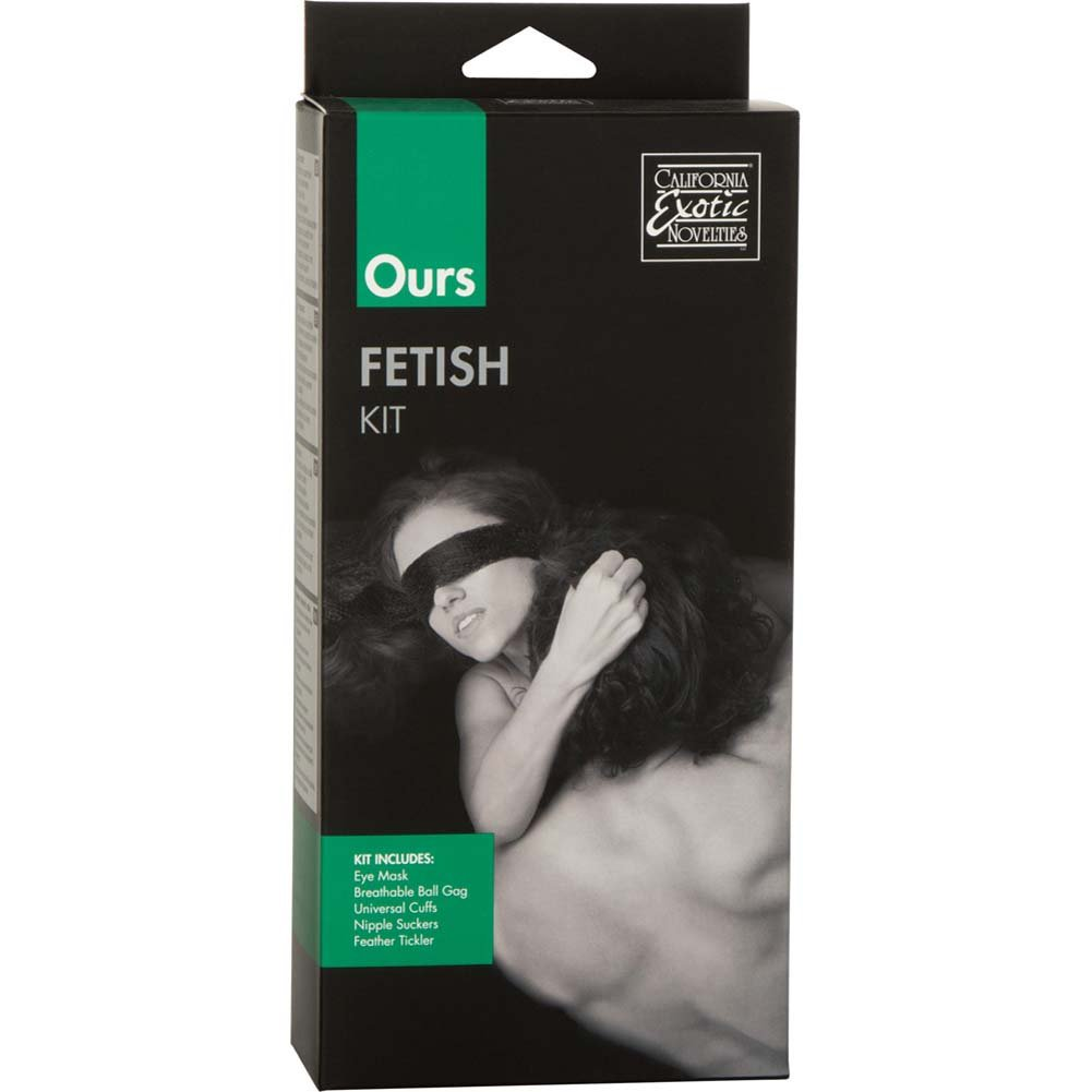 California Exotics Ours Fetish Bondage Sex Kit for Couples Black - View #1
