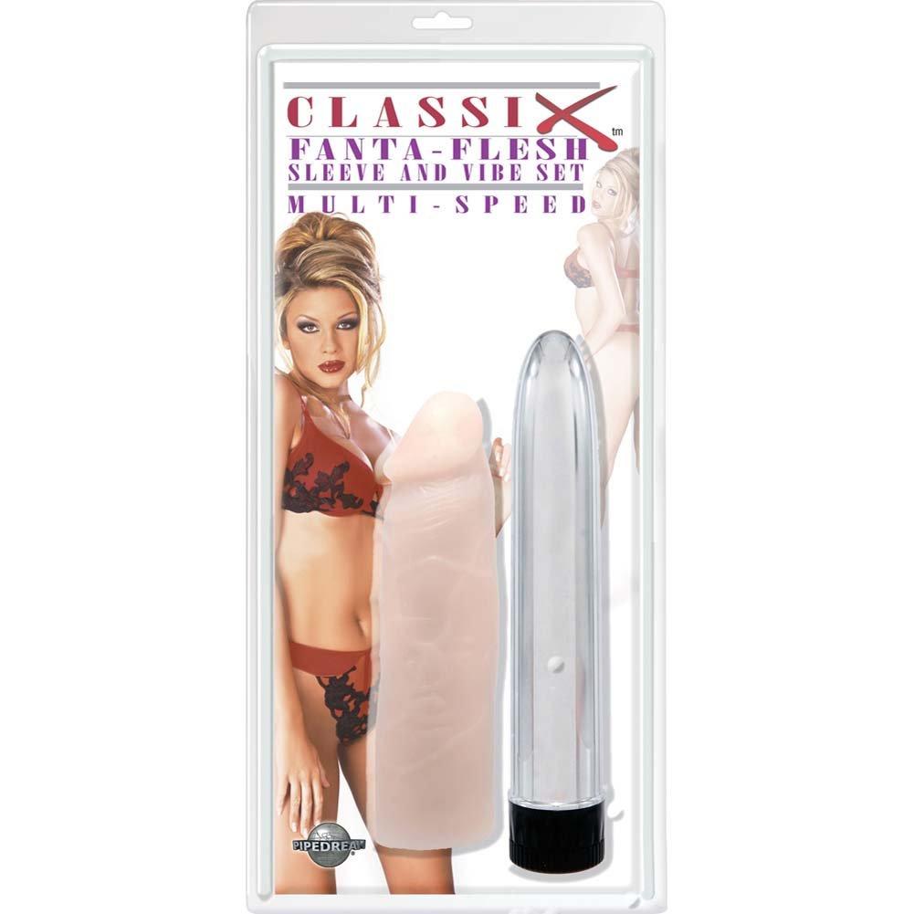 Classix Fanta-Flesh Sleeve and Vibe Set - View #2