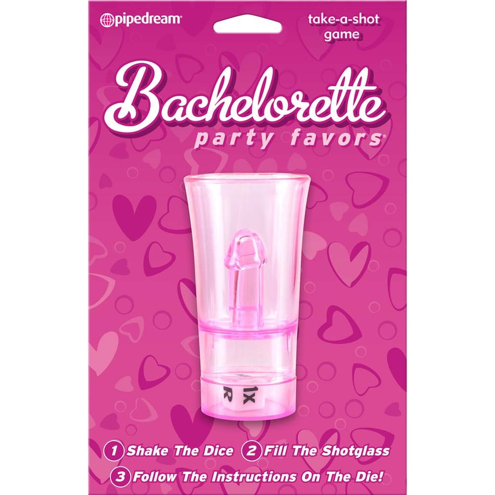 BACHELORETTE PARTY FAVORS Take-A-Shot Drinking Game, Pink - $10.24 ...