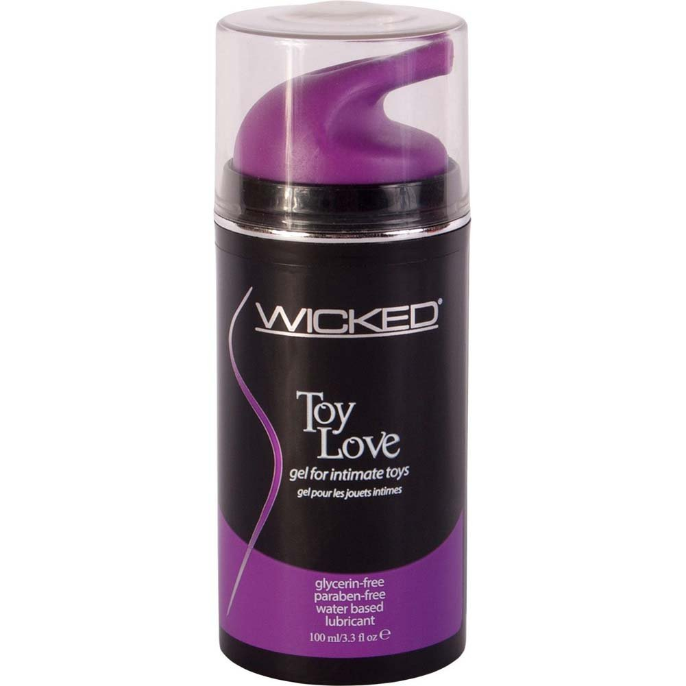 Wicked Toy Love Gel Water-Based Lubricant 3.3 Fl. Oz. - View #1