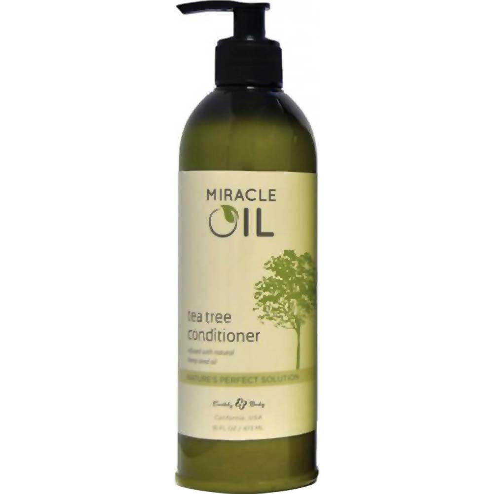 Earthly Body Miracle Oil Tea Tree Conditioner 16 Fl.Oz. - View #1
