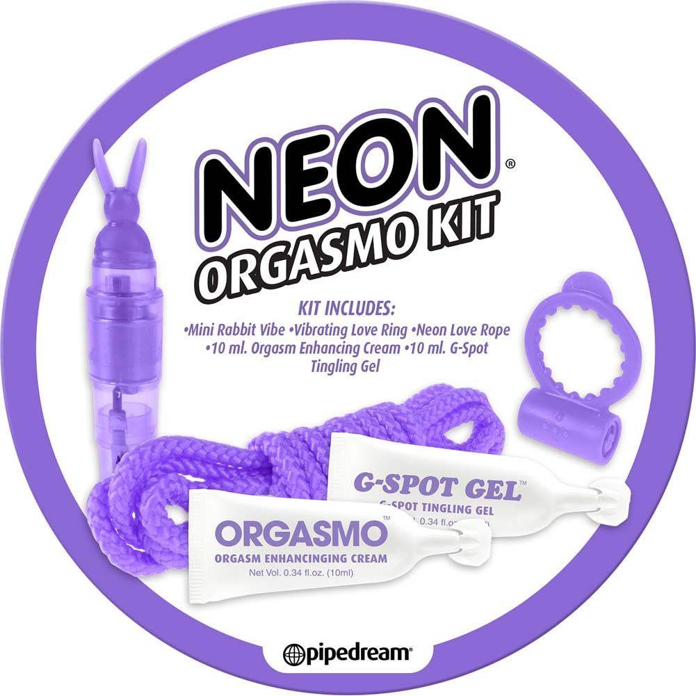 Neon Orgasmo 5 Piece Sex Kit for Lovers Purple - View #2