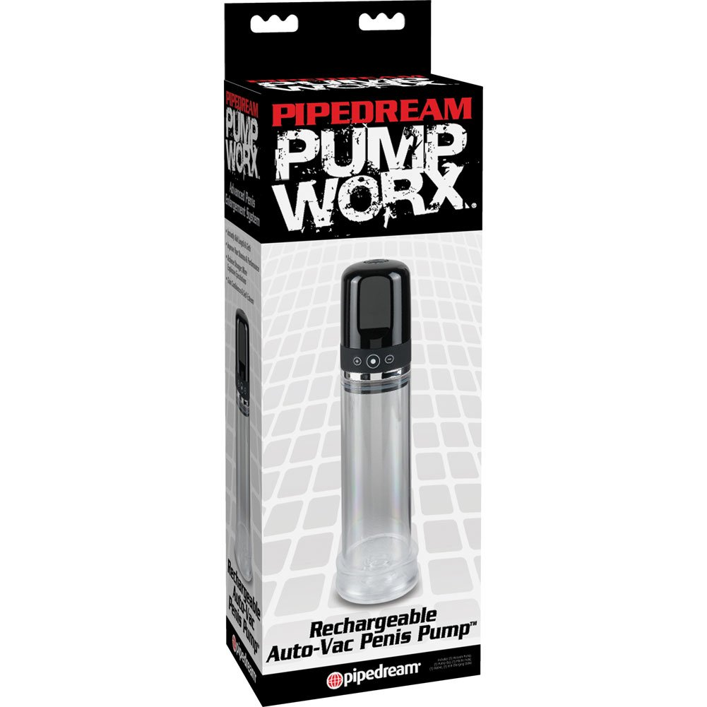 Pump Worx Recharg Auto-Vac Penis Pump - View #1