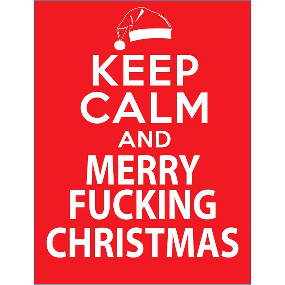 Keep Calm and Merry Fucking Christmas Gift Bag - View #1