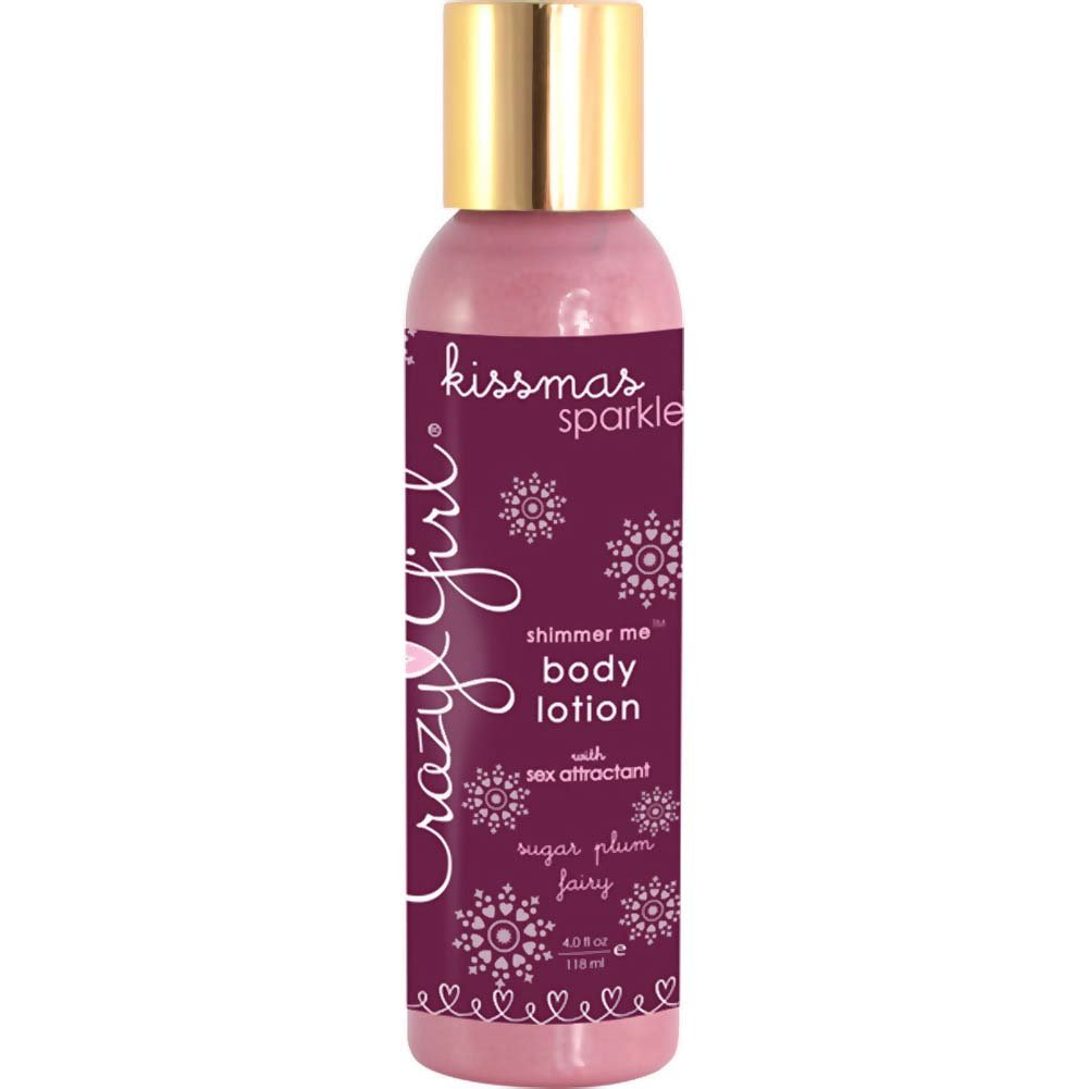 Crazy Girl Shimmer Me Body Lotion Sugar Plum Fairy 4 Oz. - View #1