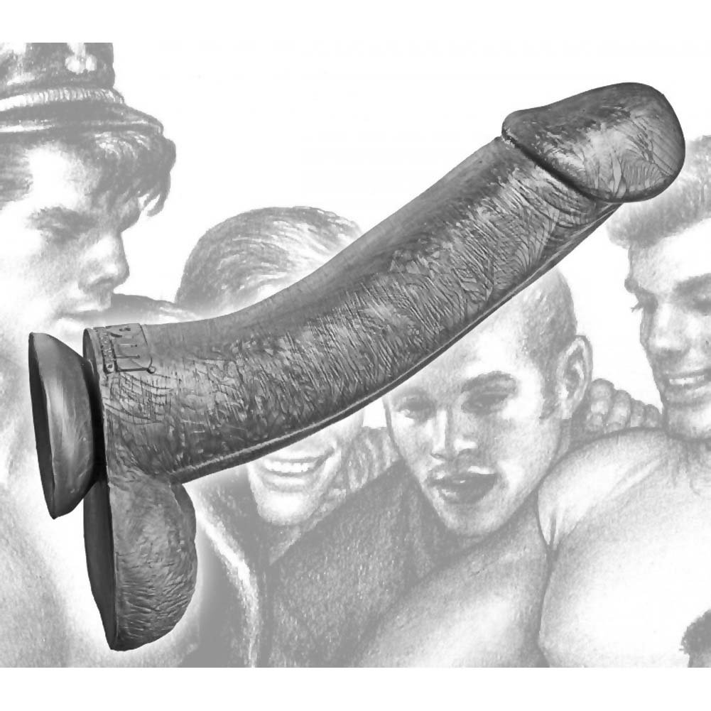 "Tom of Finland Toms Silicone Cock 12"" Grey - View #3"
