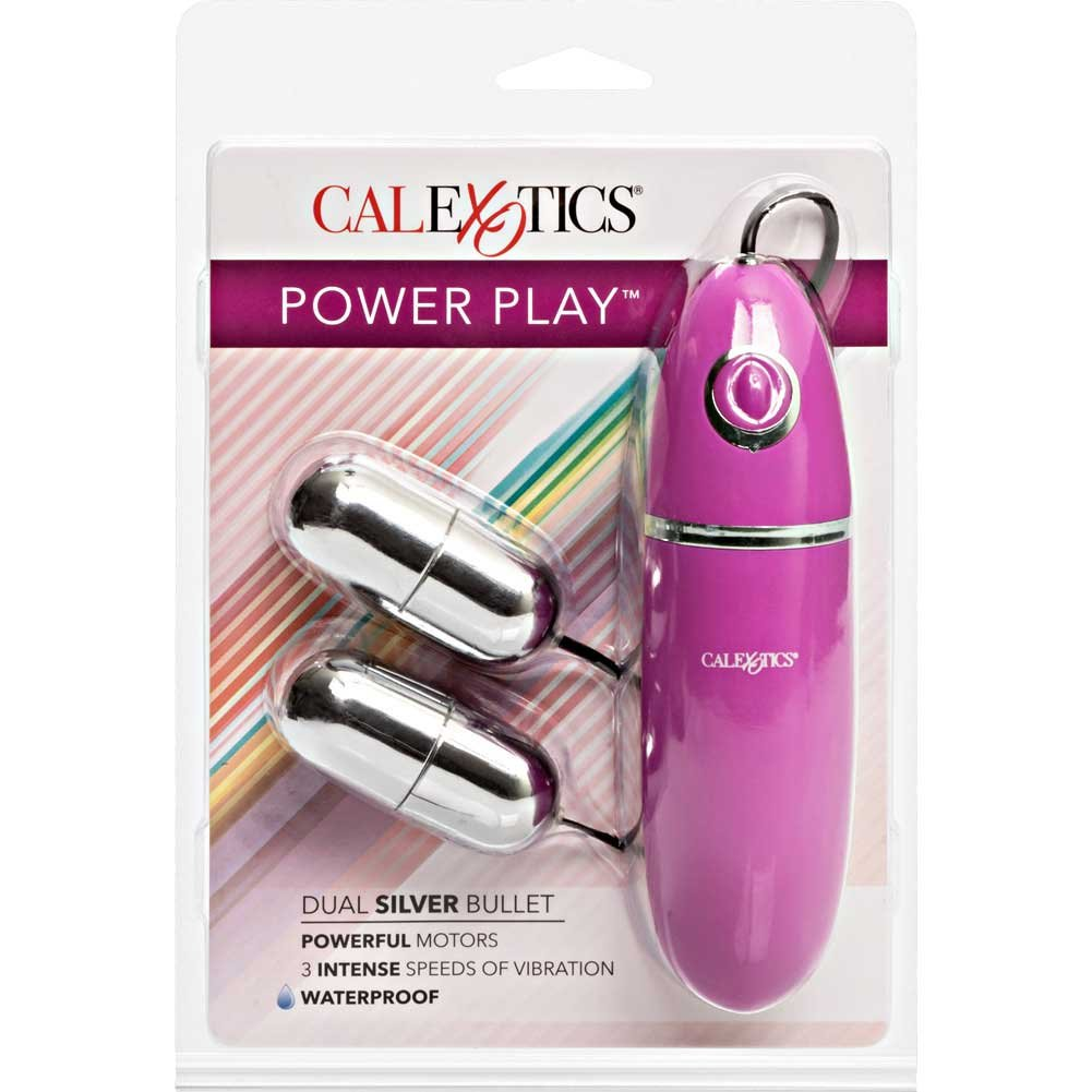 "Power Play Dual Silver Bullet Vibrator 2.25"" - View #4"