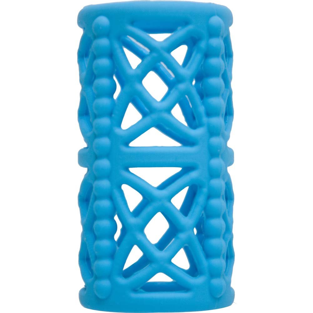 Icon Brands Simply Silicone Cock Cage Sky Blue - View #2